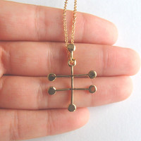 Vodka DNA Inspired Molecule Necklace For Vodka Lovers and Enthusists