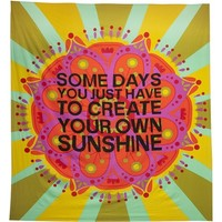 Natural Life 'Create Your Own Sunshine' Lightweight Blanket