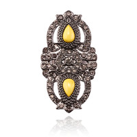 GEMINI DREAMS RING - YELLOW