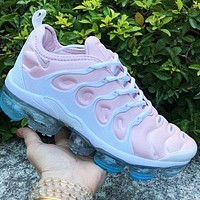 Nike Air VaporMax Plus Trending Women Stylish Air Cushion Sport Running Shoes Sneakers Pink
