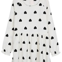 Sweet Heart A-line Dress