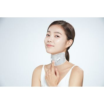 Neck Dual Mask System -  Microcurrent Neck  Mask (1 box with 2 masks)