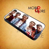 One Direction Vintage Style - iPhone 4/4s/5 Case - Samsung Galaxy S2/S3/S4 Case - Black or White