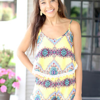 Lemon Twist Romper