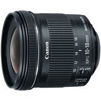 Canon 9519B002 EF-S Ultrawide Zoom Lens 10mm - 18mm f/4.5 - 5.6 IS STM