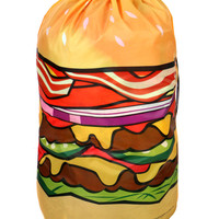 BURGER LAUNDRY BAG