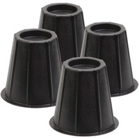 "Honey-can-do 6"" Round Bed Risers, Set Of 4"
