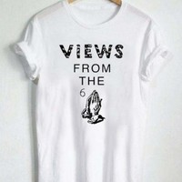 Views From 6 Drake T Shirt Size S,M,L,XL,2XL,3XL