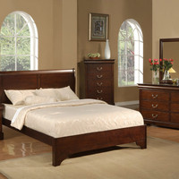 Alpine WEST HAVEN CALIFORNIA KING LOW FOOTBOARD SLEIGH BED