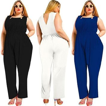 Summer Sexy Party Loose Pants & Office Jumpsuit