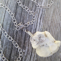 Bone Pendant,Real animal Bone jewelry, Bone Necklace,Gypsy Jewelry, Shamans necklace,Wiccan Pagan Tribal Necklace,LARP Cosplay Jewelry