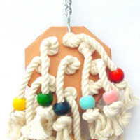Cotton Patch - Bird Toys for Pet Parrots by A Bird Toy