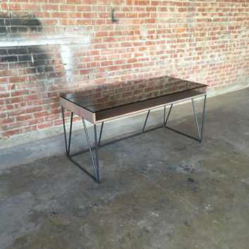 Arden Glass Top Desk