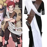 Customized Naruto Gaara First Generation Cosplay Costume Clothes Cartoon Character Costumes
