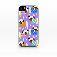 Cream Cookies - Pug Colorful Dogs Pattern Case - Apple iPhone 6 Case - Apple iPhone 6 Case - TPU Case - Hard Rubber Case