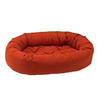 Bowsers Pumpkin Microwool Donut Dog Bed