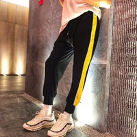 Wholsale women and men Champion Sweatpants L120752458