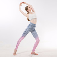 2017 New Style Women Leggings Thin Slim Casual Leggings Striped Wome Leggings Slim Calzas Deportivas Mujer Fitness 8 Color