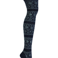 Sock It To Me Alpine Knit Over the Knee Socks | Revival