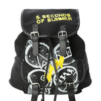 5 Seconds Of Summer Symbols Slouch Backpack