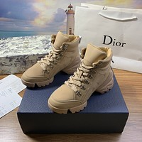 dior fashion men womens casual running sport shoes sneakers slipper sandals high heels shoes 385