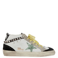 Superstar Studded Mid-Top Sneakers