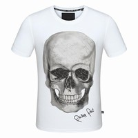 Philipp Plein Women Man Fashion Print Sport Shirt Top Tee