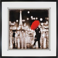 A Paris Kiss Wall Art - Framed Art -  Wall Decor -  Home Decor | HomeDecorators.com