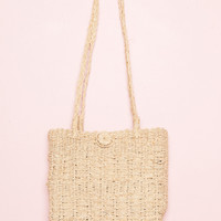 Straw Tote Bag - Bags & Backpacks - Accessories