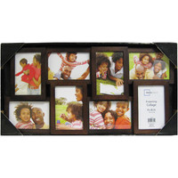 Walmart: Mainstays 8-Opening 4x6 Collage Picture Frame, Walnut
