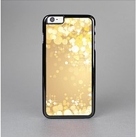 The Gold Unfocused Sparkles Skin-Sert Case for the Apple iPhone 6 Plus