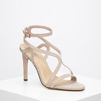 Curved Strap Stiletto Sandals
