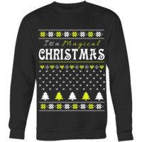 "It's a Magical Christmas ""Ugly"" Sweatshirt (Style 3)"
