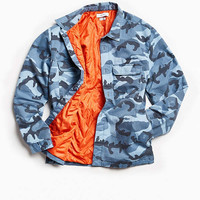 UO Quilted Camo Overshirt | Urban Outfitters