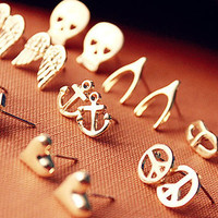 Cute Stud Earrings from P.S. I Love You More Boutique