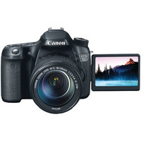 Canon 8469B016 20.2MP EOS 70D Digital SLR Camera + 18-135mm Zoom Lens