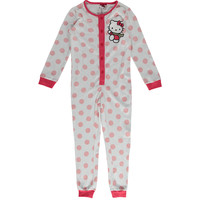 Hello Kitty Kids White & Pink Hello Kitty Sleepsuit