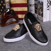 shosouvenir Versace men  Fashionable casual shoes