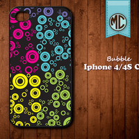 Abstract Retro iPhone Case - Plastic or Silicone Rubber iPhone 4 4S Case Cover - MC077