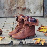 The Lodge Boots in Rust