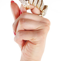 Full Finger Knuckle Bling Ring