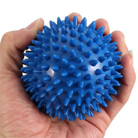 New Design 9cm Spiky Massage Ball Beauty Body Hand Foot Pain Stress Massager Relief Trigger Point Health Care Outdoor Sport Toy
