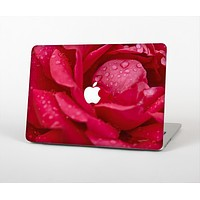 """The Drenched Red Rose Skin for the Apple MacBook Air 13"""""""