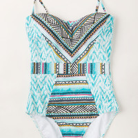 Diving Right In One-Piece Swimsuit | Mod Retro Vintage Bathing Suits | ModCloth.com