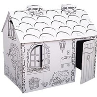 Build-it-Yourself Paper Playhouse – Cottage