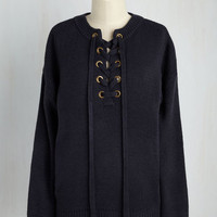 Laces to Go, People to See Sweater | Mod Retro Vintage Sweaters | ModCloth.com