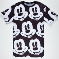 Neff Disney Collection Mickey Mickey Mens T-Shirt Black  In Sizes