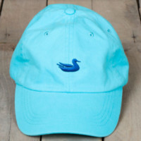 Southern Marsh Collection LIMITED EDITION Washed Baseball Hat- Washed Antigua Blue/Slate Duck