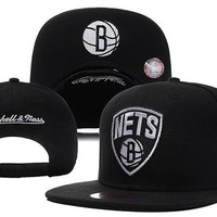 Perfect NBA Brooklyn Nets Snapback hats Women Men Embroidery Sports Sun Hat Baseball Cap Hat