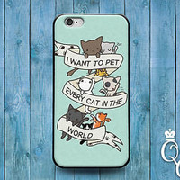 Cute Kitty Cat Quote Case Funny Phone Cover iPod iPhone Pet Animal Cool Fun Girl